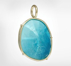 Colored Stone Pendant by Heather Moore